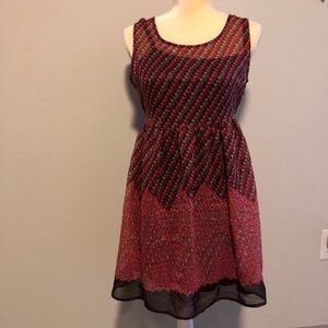 Pink and Brown sundress